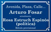 Arturo Fosar (calle)