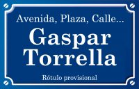 Gaspar Torrella (calle)