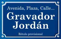 Gravador Jordán (calle)