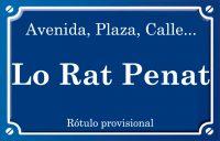 Lo Rat Penat (calle)