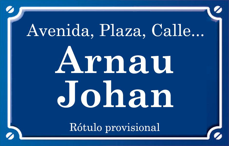 Arnau Joan (calle)