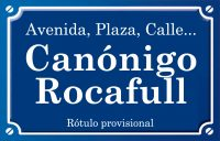 Canonge Rocafull (calle)