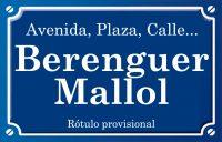 Berenguer Mallol (calle)
