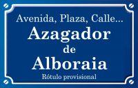 Assagador de Alboraia (calle)