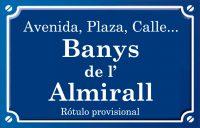 Banys de l'Almirall (calle)