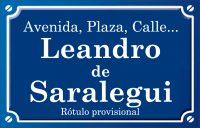Leandro de Saralegui (calle)