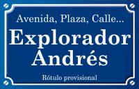 Explorador Andrés (calle)