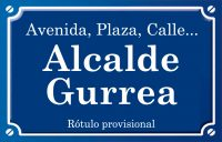 Alcalde Gurrea (calle)