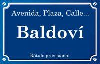 Baldoví (calle)