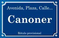 Canoner (calle)