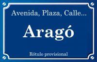 Aragó (avenida)