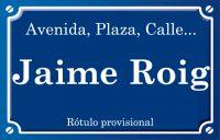 Jaume Roig (calle)
