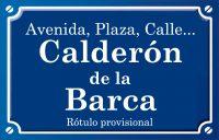 Calderón de la Barca (calle)