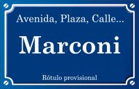 Marconi (avenida)
