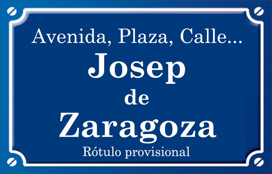 Josep Zaragoza (calle)