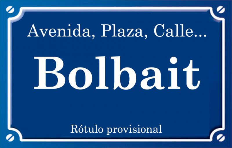 Bolbait (calle)