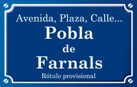 Pobla de Farnals (calle)