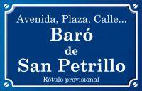 Barón de San Petrillo (calle)
