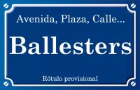 Ballesters (calle)