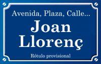 Joan Llorenç (calle)