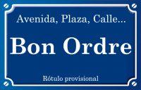 Bon Ordre (calle)