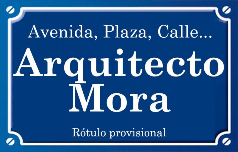 Arquitecte Mora (calle)