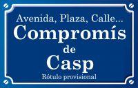 Compromís de Caspe (calle)