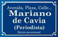 Mariano de Cavia (calle)
