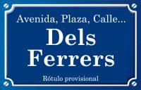 Dels Ferrers (calle)