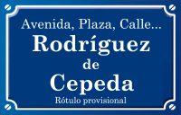 Rodríguez de Cepeda (calle)