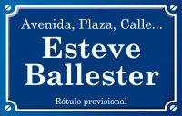 Esteve Ballester (calle)