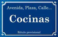 Cocinas (calle)
