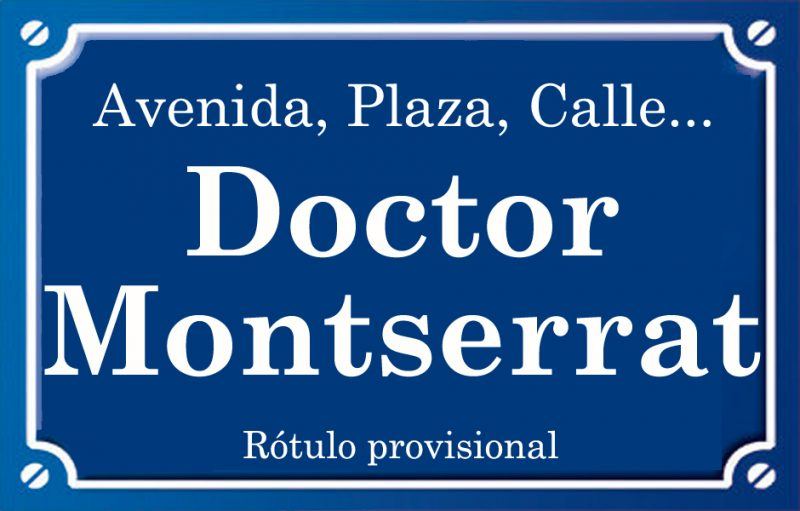 Doctor Montserrat (calle)