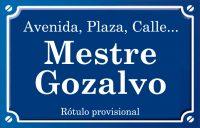 Mestre Gozalvo (calle)