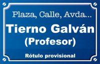 Professor Tierno Galván (plaza)