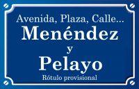 Menéndez y Pelayo (avenida)