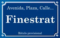Finestrat (calle)