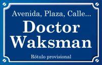 Doctor Waksman (avenida)