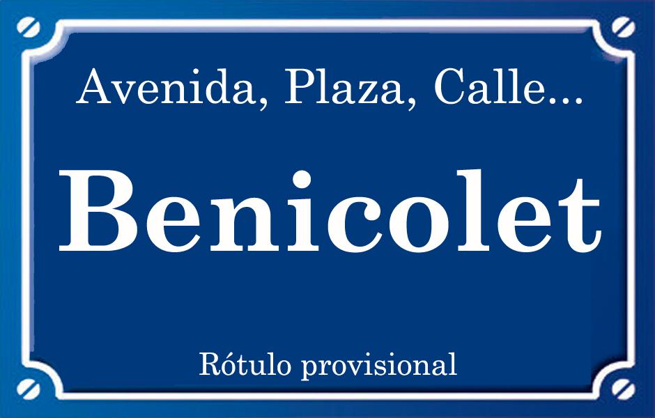 Benicolet (calle)