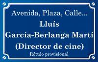 Luis García-Berlanga Martí (calle)
