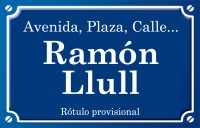 Ramón Llull (calle)