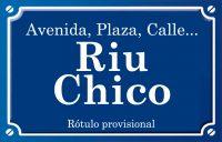 Ríu Chico (calle)