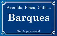 Barcas (calle)
