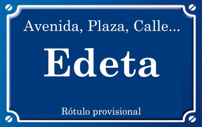 Edeta (calle)