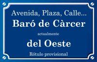 Baró de Càrcer (avenida)