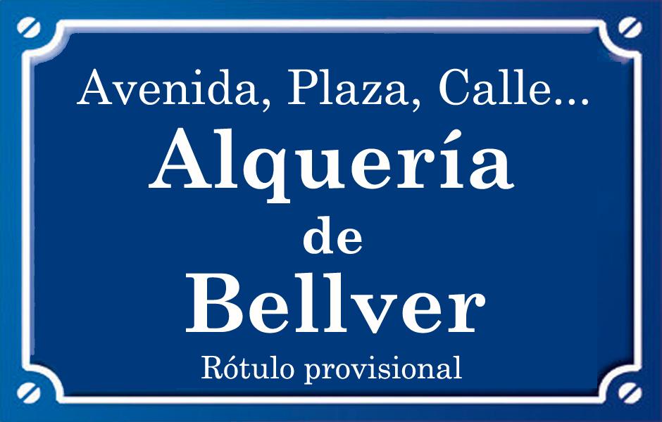 Alqueries de Bellver (calle)