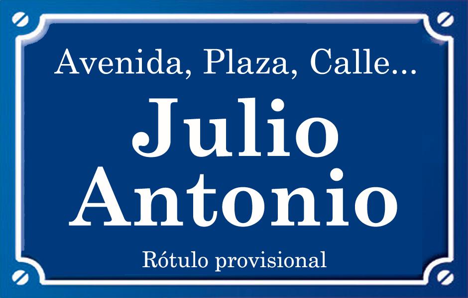 Julio Antonio (calle)