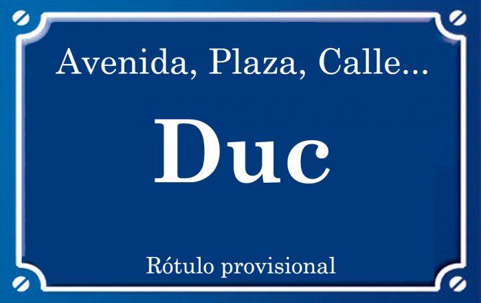 Duque (calle)
