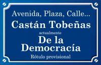 Castán Tobeñas (calle)