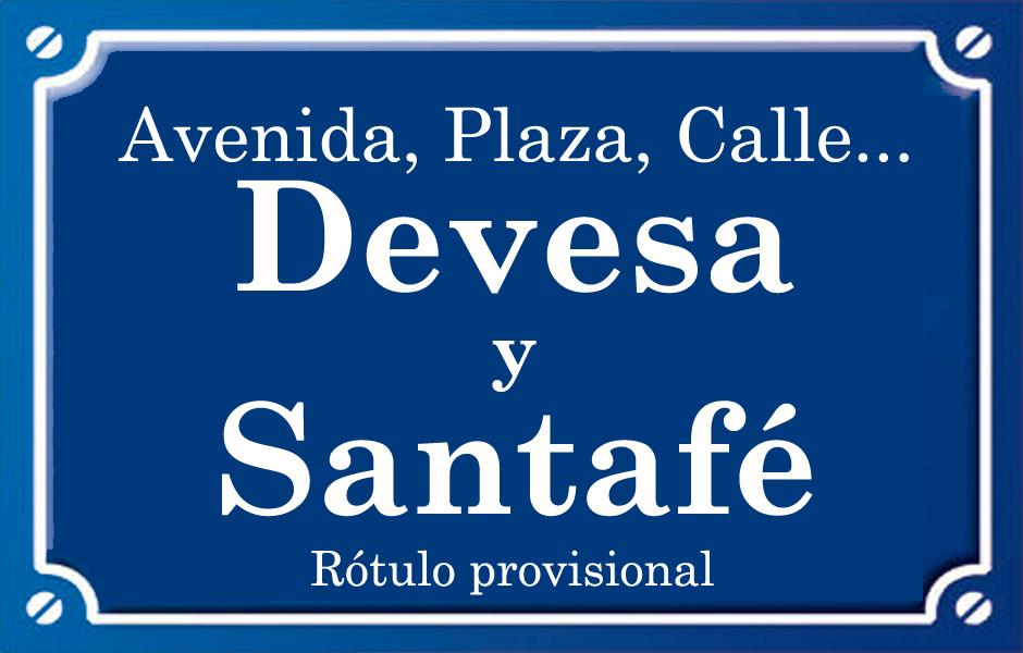Devesa y Santafé (pasaje)